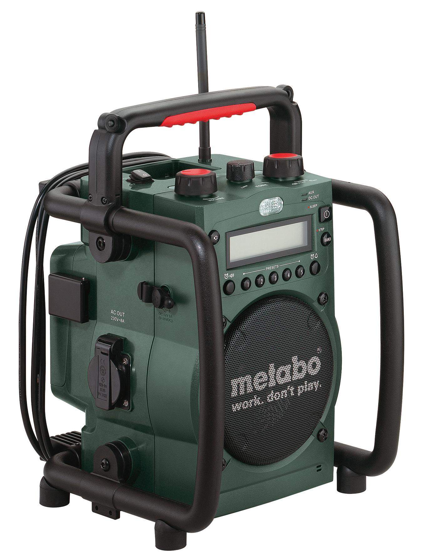 metabo baustellenradio rc 14 4 18 weden metabo service. Black Bedroom Furniture Sets. Home Design Ideas