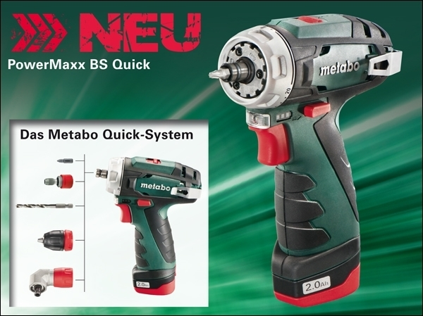 metabo powermaxx bs quick basic weden metabo service. Black Bedroom Furniture Sets. Home Design Ideas