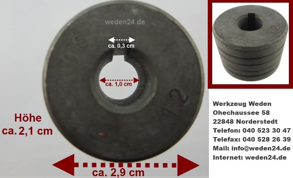 metabo elektra beckum drahtf hrungsrolle nut 0 6 0 8 1 0 1. Black Bedroom Furniture Sets. Home Design Ideas