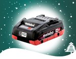 WINTERAKTION Metabo Akkupack LiHD 18 V 4,0 Ah