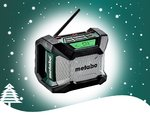 WINTERAKTION Metabo  R 12-18 Akku-Baustellenradio