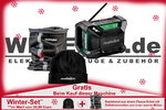 Metabo Akku-Baustellenradio R 12-18 DAB+ BT Winter-Set